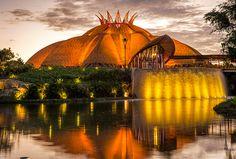 AHA universo JOYA teatro vidanta riviera maya resort mexico designboom