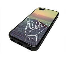 Apple Iphone 5 or 5s Case Cover Hang Loose Hawaii Beach Quote Hipster Design Black Rubber Silicone Teen Gift Vintage Hipster Fashion Design Art Print Cell Phone Accessories. Easy to snap in and access to all ports, control and sensors. High Quality Print, Printed on Aluminum Sheet and not a Sticker. Rust Resistant. Scratch Resistant. Wont Dull or Fade. Slim and light weight to fit your Phone. Made of Rubber Silicone. Fits the iPhone 5 / 5S Generation (iPhone 5 OR 5S). Made and Ships from…