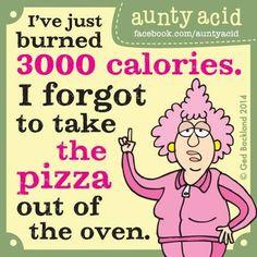 Burned calories