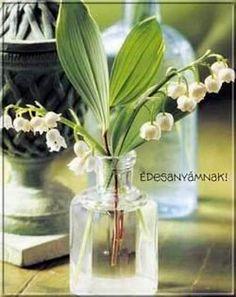 Képeslapküldés: Anyák napja 236 képeslap. Glass Vase, Decor, Decoration, Decorating, Deco