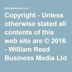 Copyright - Unless otherwise stated all contents of this web site are © 2016 - William Reed Business Media Ltd - All Rights Reserved - Full details for the use of materials on this site can be found in the Terms & Conditions RELATED NEWS Cheltenham late-night levy to be scrapped after scheme flops Late night levy: JDW to review last call time in Camden venues after council pushes ahead with levy Camden introduces Late Night Levy RELATED TOPICS: Legislation Subscribe to our FREE newsletter…