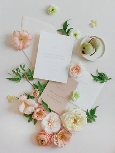 Creative Wedding Invitations, Wedding Stationery, Wedding Calligraphy, Floral Style, Floral Design, Wedding Venues, Wedding Day, Gold Wedding, Summer Wedding