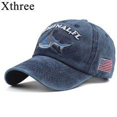 Encontrar Más Gorras de béisbol Información acerca de Xthree 100% algodón  lavado gorra de béisbol 83aa75c24b0
