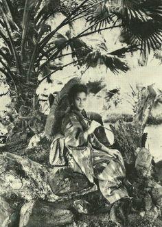 """A princess under palms, 1888"""