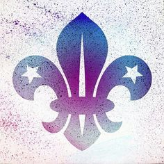Fleur de lis - graffiti Tiger Scouts, Cub Scouts, Girl Scouts, Scout Quotes, Eagle Scout Ceremony, Scout Mom, Arabesque, Lsu Tigers, Step By Step Drawing