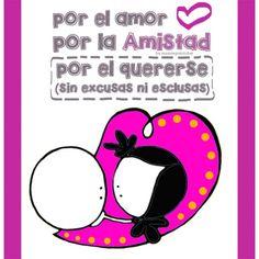 "Lámina ""Love, amistad,..."""