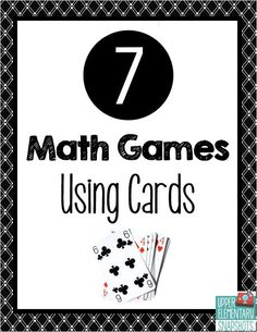 Fun, free game ideas using a deck of cards to reinforce multiplication, place value and fractions.
