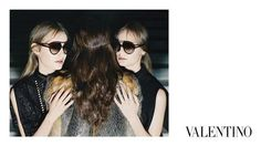 Valentino FW15 Campaign shot by Michal Pudelka