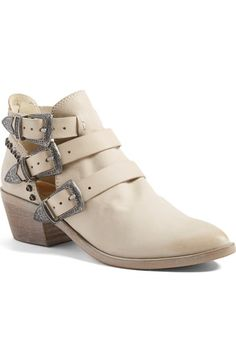 Dolce Vita 'Spur' Buckle Strap Bootie (Women) available at #Nordstrom