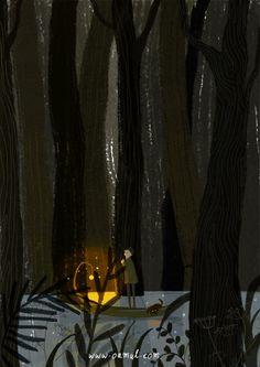 Oamul Lu illustration