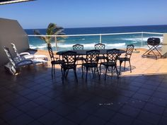 Dolphin Bay Beach Apartment - This is a luxurious self-catering apartment situated right on the coast of Ballito in the heart of the Dolphin Coast, with direct access to the beach.  The apartment is spacious and open-plan, with a large ... #weekendgetaways #ballito #dolphincoast #southafrica