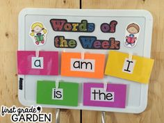 One of my projects this summer was to plan out how I wanted to teach sight words and phonics skills next year. My curriculum does not di...
