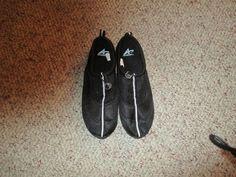 Women's Black Athletech Water shoes size 9/10 M #Athletech #WaterShoes