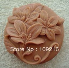 Aliexpress.com : Buy Free shipping!!!1pcs Three Flowers (ZX274) Silicone Handmade Soap Mold Crafts DIY Mold from Reliable Silicone Soap Mold suppliers on Silicone DIY Mold and  Home Supplies Store $15.68