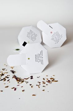 tea packaging by minunache , via Behance
