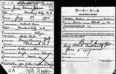 Military Monday: World War I and II Draft Registration Cards For James Edward Jones