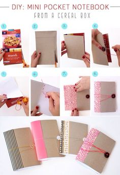 5 minute bookbinding bag journal and craft diy mini pocket cute pretty book diy crafts diy ideas diy crafts do it yourself diy project homemade diy tips diy images do it yourself images diy photos solutioingenieria Gallery