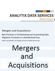 Mergers and Acquisitions: [Database Whitepaper] Best Practices in Orchestrating and Accelerating Data Migration Processes in a Standardized Way Data Migration, Organizational Structure, Best Practice, Big Data, Life Cycles, White Paper, Ds, Management