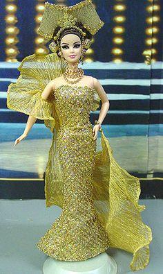 OOAK Barbie NiniMomo's Miss Brunei 2011