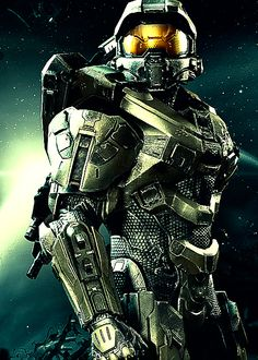 Did you know that there is such a thing as a full-size adult Halo Master Chief costume? It is amazing! I definitely want to dress up as the Master Chief for Halloween trick or treat! Halo Master Chief, Master Chief Armor, Master Chief And Cortana, Halo Game, Halo 5, Master Chief Costume, Halo Armor, Halo Spartan Armor, Poster Print