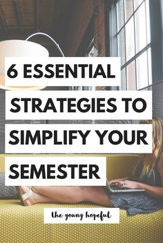 Make your semester a little bit simpler with these strategies to stay organized…