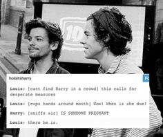 fan: how do u find each other in a crowd t: well u can find harry by...
