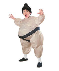 Look at this #zulilyfind! Beige Inflatable Sumo Dress-Up Set - Boys by Rubie's #zulilyfinds www.zulily.com