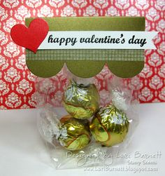 Valentine's Day Treat Bag Topper using A Muse Studio Products