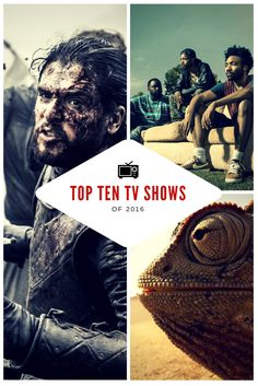 2016 delivered some of the most stunning, poignant, thought-provoking, and downright hilarious moments of TV that I could remember in a long time. Here are my top 10 shows that I watched this year. Let me know what your favourite shows of 2016 were in the comments section below: (Game Of Thrones, Westworld, Black Mirror, Stranger Things, Planet Earth 2,  The People Vs OJ SImpson, Atlanta, The Night Of, Veep, Silicon Valley, blog, tv review, top 10, 2016, WordPress, list)