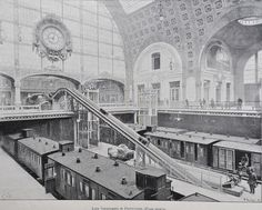 Gare D'Orsay Paris 1900                                                                                                                                                                                 Plus
