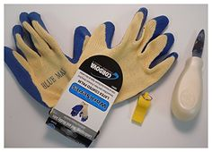 Standard Scallop Kit Marine Sports Manufacturing- Includes Mesh Bag for collecting scallops, gloves (scallops can pinch!), Scallop knife (to pry them open & clean them) and  safety whistle. All for $24 plus shipping on Amazon