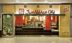 Grab a cup of fresh Colombian coffee @ Juan Valdez Cafe. Main terminal, pre-security, concourse B near Gate Colombian Coffee, I Love Nyc, Jfk, Liquor Cabinet, Gate, Fresh, Portal