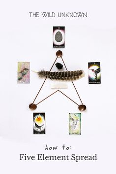 The Five Element Spread | The Five Element Spread is an advanced reading that requires a bit of preparation… but is well worth the effort. Read the full post on The Wild Unknown blog!
