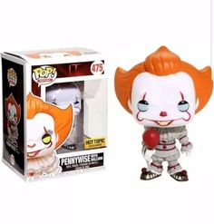 IT Pennywise with Balloon Hot Topic Exclusive # 475 Funko Pop #Funko