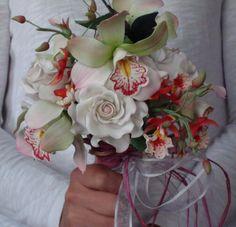 Gum Paste Wedding Bouquet