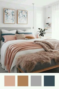 17 Delightful Minimalist Home Budget Ideas 17 Delightful Minimalist Home Budget Ideas Leni Hofmeier hofmeier Schlafzimmer Eye-Opening Useful Ideas Minimalist Bedroom Interior Wardrobes minimalist decor nbsp hellip bedding grey Bedroom Themes, Home Decor Bedroom, Modern Bedroom, Bedroom Bed, Ideas For Bedrooms, Bedroom Designs, Bedroom With Sofa, Bedroom Color Schemes, Bed Rooms