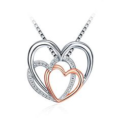 Silver Heart Necklace 925 Sterling Silver #silvernecklace #necklace #Christmaspresents #Christmasgifts #Christmas