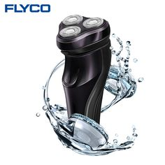 nice FLyco Professional Body Washable Electric Shaver for Men lasting 45 Minutes Rechargeable Electric razor 3D Floating HeadS FS372