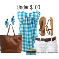Under $100 Total, created by marykate2345 on Polyvore