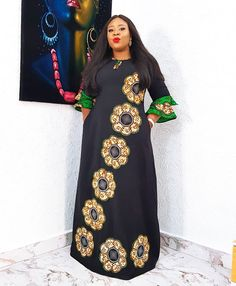 Source by fashion dress Long African Dresses, Latest African Fashion Dresses, African Print Dresses, African Print Fashion, African Prints, African Traditional Dresses, African Attire, Nigerian Dress, Fashion Blouses