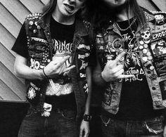 BATTLE JACKETS! #metal #battle jacket