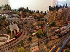 awesome N Scale layout                                                                                                                                                                                 More