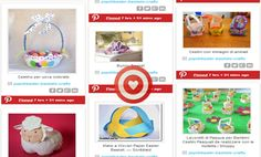 Easter Baskets crafts - Πασχαλινά καλάθια |Pinterest - Popi-it.gr