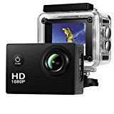 #10: Action Camera Amuoc Waterproof 30m Sport Camera Full HD 1080P 2.0 Inch LCD Display 120 Degree Wide Angle Lens Sport Recorder Car Camera with Outdoor Accessories (Black) #FabOffers #FabBestSellers #Camera #Photography #Nikon