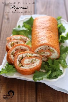 Fresh Rolls, Finger Foods, Sushi, Sandwiches, Food And Drink, Pizza, Cooking Recipes, Ethnic Recipes, Tuna