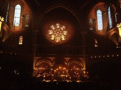 Now that is a fucking gig. Holy shit what a venue. This is where Katatonia recorded Sanctitude. Union Chapel In London