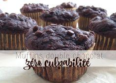Muffin double chocolat Zéro culpabilité