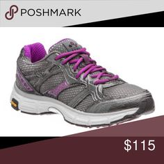 ⚠️SALE NEGOTIABLE⚠️ see last post! $140 now $115! GREY and PURPLE AERO SYSTEM VIBRAM WOMEN'S 7 PEWTER/BERRY RUNNING WALKING SHOE Shoes Sneakers