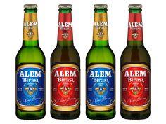 ALEM BIRASIL BEER - Dizajn etikety a kartónu na pivo Alem Birasl, Piešťany.