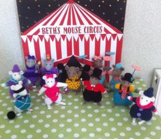 Beth's mouse circus aunty Roz 2015